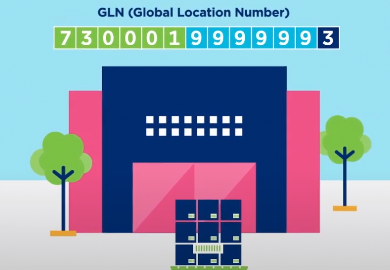 Layer with a GLN